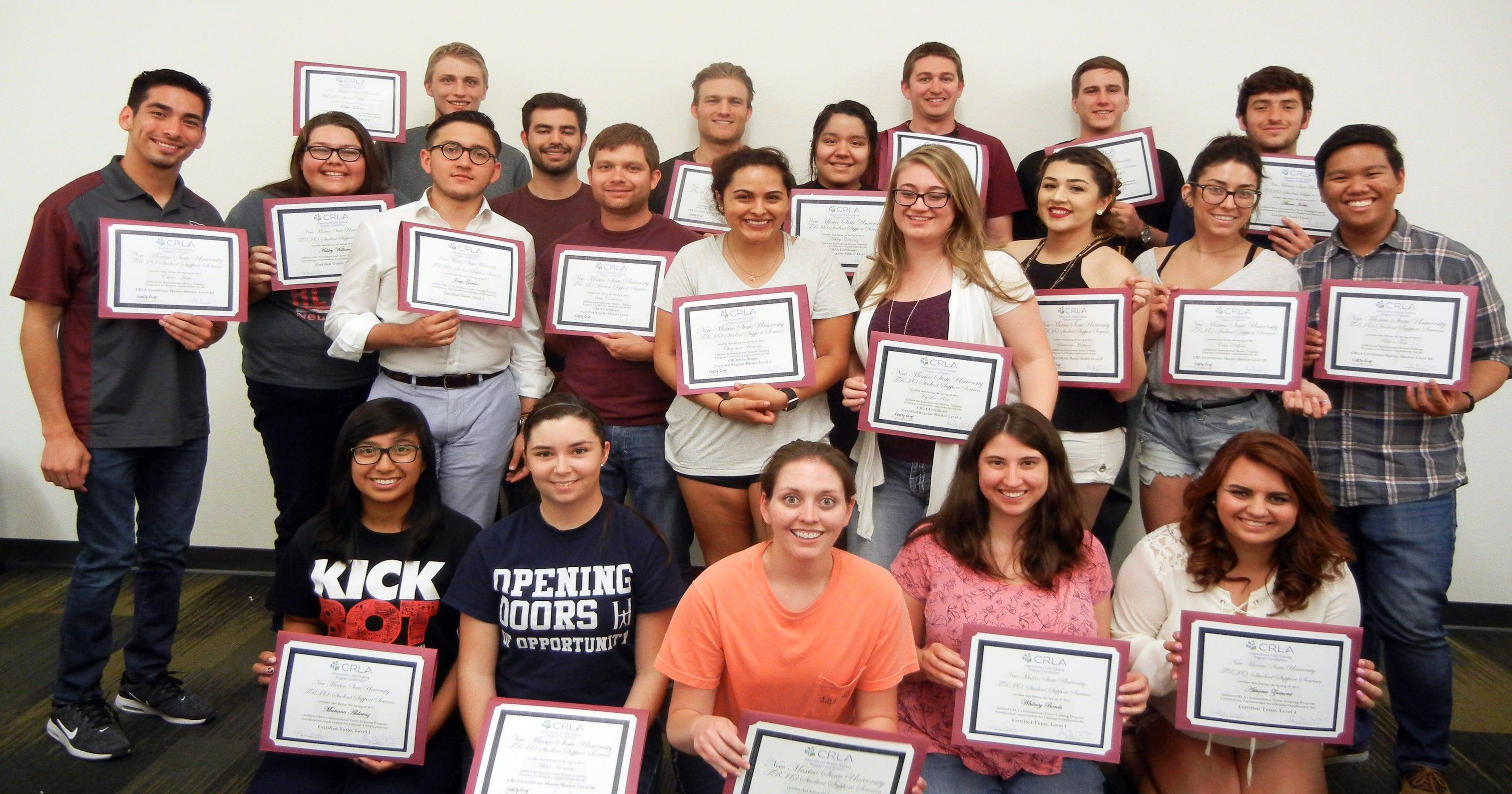 Nmsu Tutoring Mentoring Programs Receive National Certification