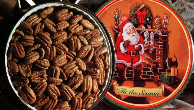 The J.W. Renfroe Pecan Company is already getting ready for the Christmas season.