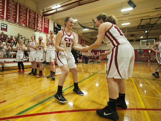 Spaulding vs. CVU Girls Basketball 02/11/16