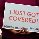 Magdalena Miranda signed up for insurance during Affordable Care Act enrollment Jan. 29, 2016, at Southwest General Hospital in San Antonio.