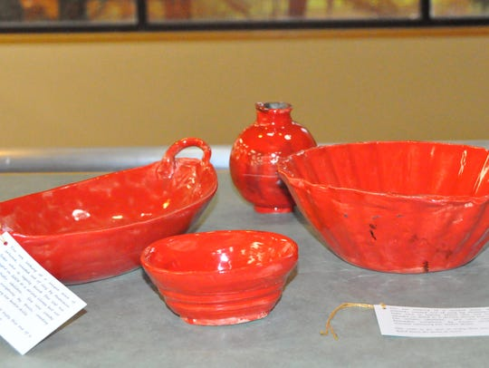 Madeline Sabo began working with ceramics after she