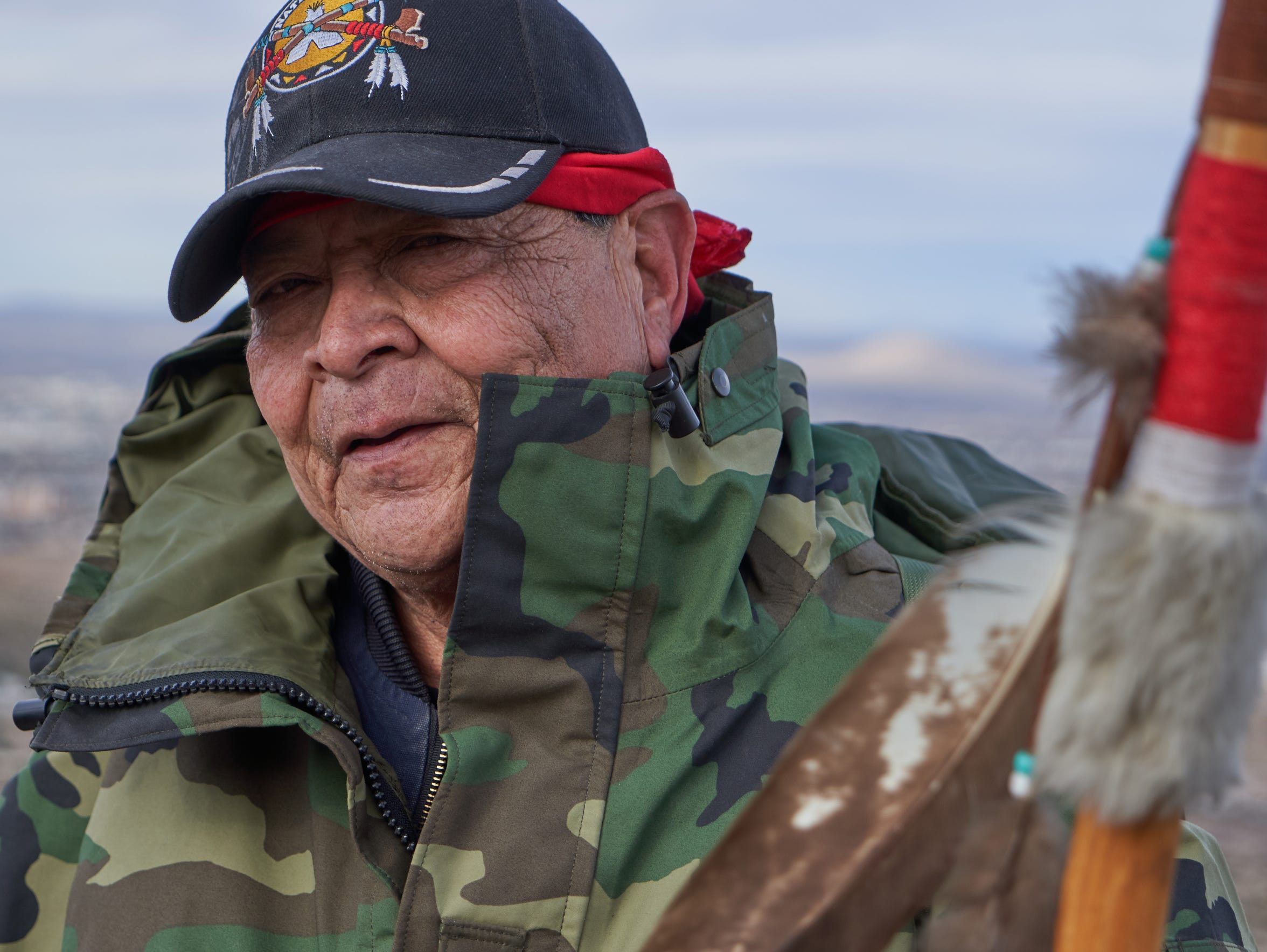 Raul Padilla, 67, is pictured on the trail of Tortugas