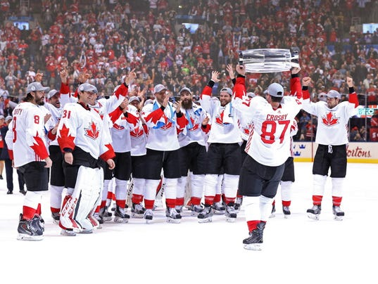 USP HOCKEY: WORLD CUP OF HOCKEY-FINAL-TEAM CANADA S [ENTER SUPPCAT] CAN ON