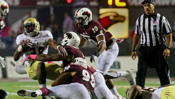 ULM struggled offensively against Texas State without