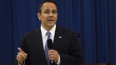 Gov. Matt Bevin of Kentucky