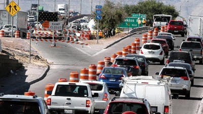 Crews began working on the expansion of I-10 between Zaragoza and Viscount in 2014.