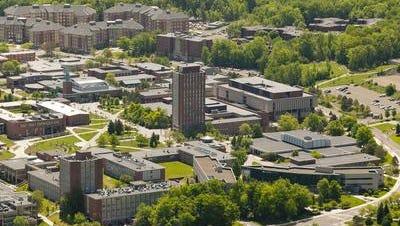 The campus at SUNY Binghamton