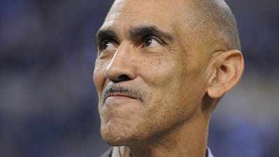Ex-coach Tony Dungy sparked controversy when he said he wouldn't have drafted gay player Michael Sam.