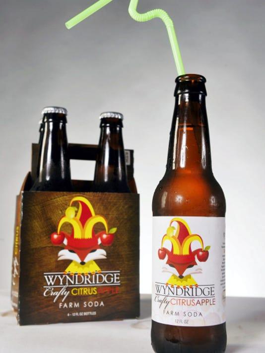 Wyndridge Farm's Crafty Citrus Apple farm soda is one of two varieties of craft soda produced by the York Township farm.