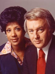 Diana Lewis and Bill Bonds were co-anchors on WXYZ-TV (Channel 7).
