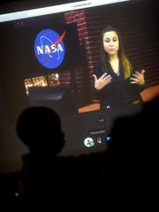Fourth- and fifth-grade students from Northwest Elementary School had the opportunity to participate in a virtual visit with representatives from the NASA's Goddard Space Flight Center in Goddard, Md. NASA engineers spoke about what it takes academically to achieve your career goals. The visit was prompted by an exploration of jobs during career week.