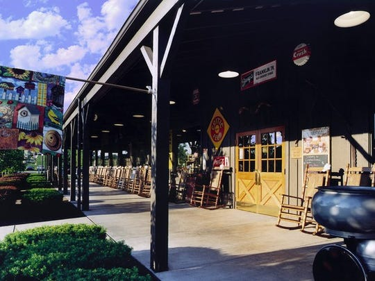 The man who interjected himself into an El Paso woman's conversation in Spanish was sitting in the outdoor patio of an El Paso Cracker Barrel, much like the one pictured.