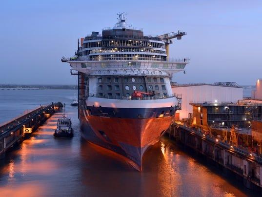 Celebrity Edge New Celebrity Cruises Ship Takes To Water - Celebrity cruise ship photos