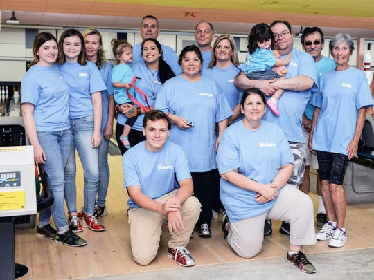 Florida Rural League members and their families came out in full-force to support Sarah's Kitchen.