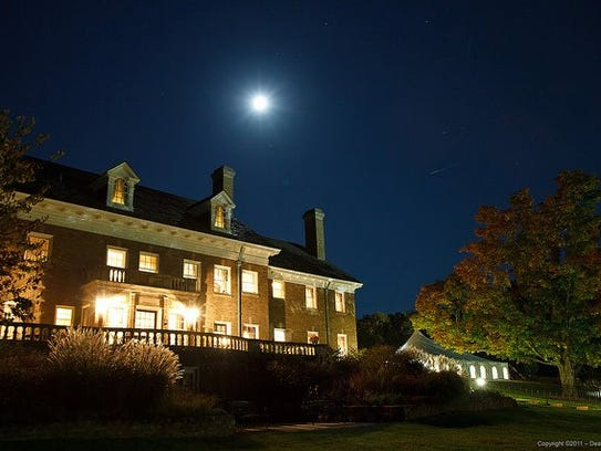 The mansion near Saugatuck is said to be haunted.