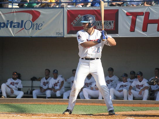 St. Cloud Rox catcher Luke Ringhofer was selected by