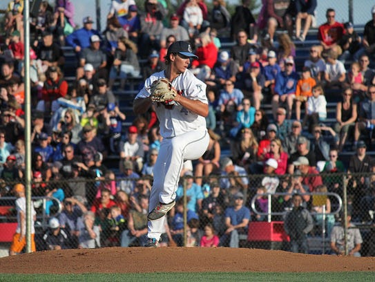 Former St. Cloud Rox player Matt Shannon was picked