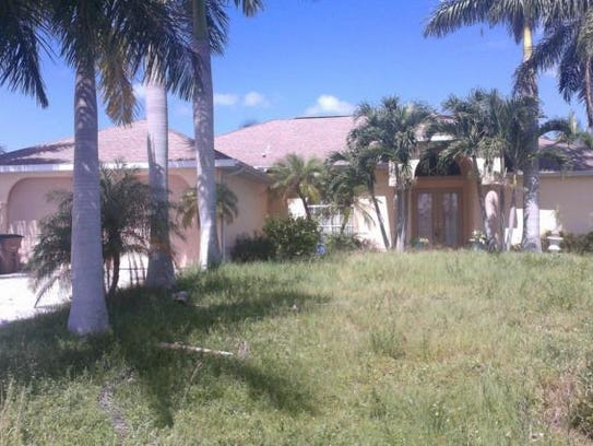This home at 2522 SW 27th Place, Cape Coral, recently