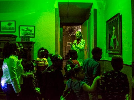 Central Library was transformed into a haunted house to celebrate Halloween during Library Loud Days.