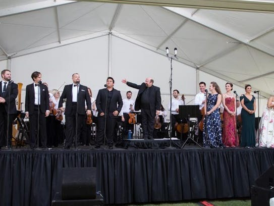 Sunday: Opera in the Park will celebrate its 20th anniversary
