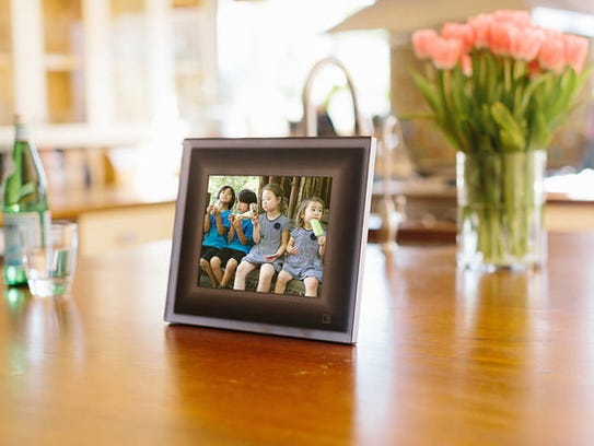 The digital digital Aura Frame displays a wide variety