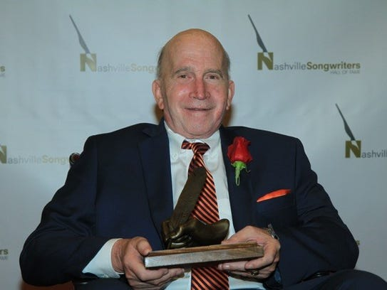 Paul Craft at the 2014 Nashville Songwriters Hall of