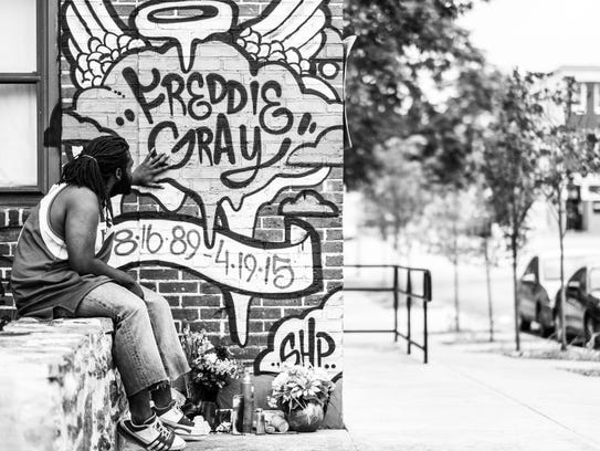 Photo by Devin Allen of his work, A Beautiful Ghetto,