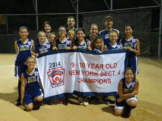 New City/Suffern 9-10 LL softball