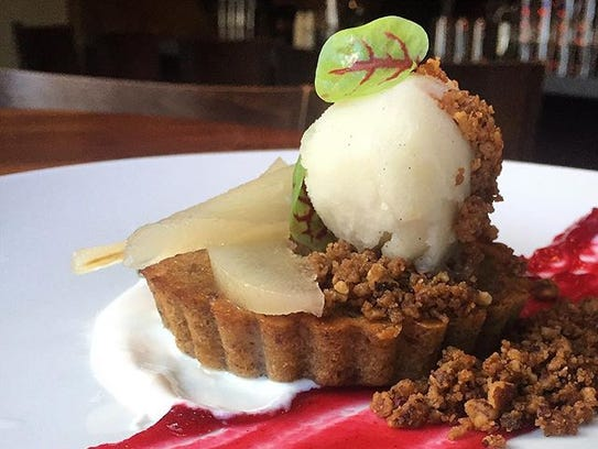 Pecan and brown butter cake at Etch. (Photo: File / Submitted)