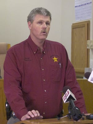 Turner County Sheriff Byron Nogelmeier talks about a shooting in 2009. Nogelmeier will become South Dakota's 24/7 program coordinator in April.
