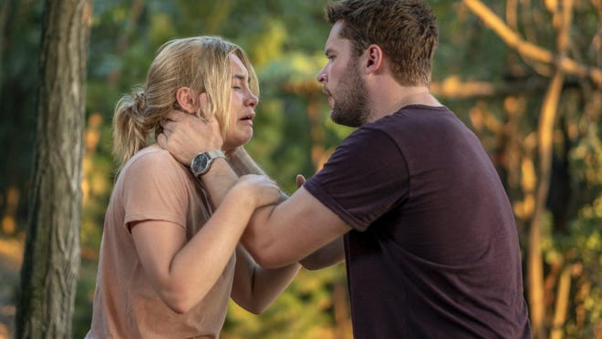 """Florence Pugh, left, and Jack Reynor in a scene from Scandinavian death cult thriller """"Midsommar,"""" which is on Amazon Prime."""