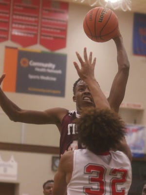 Eric Hunter had a big night in Tindley's win over Lawrence North on Friday night.