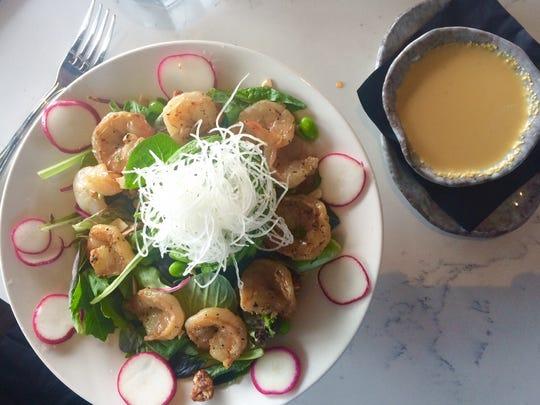 The Grilled Shrimp-Avocado Salad from Eastern Peak.