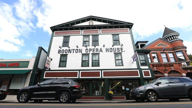 The Boonton Opera House originally opened in November 1890.