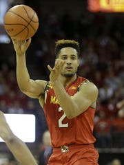 Sophomore Melo Trimble leads Maryland in points (14.8) and assists (5.7) per game.