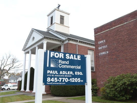 Grace Baptist Church in Nanuet, photographed on Thursday, November 16, 2017, is up for sale.