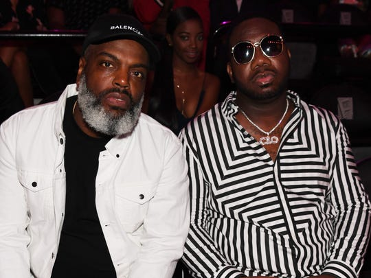 "Kevin ""Coach K"" Lee (left) attends the BET Hip Hop Awards 2017 at The Fillmore Miami Beach at the Jackie Gleason Theater on October 6, 2017 in Miami Beach, Florida."