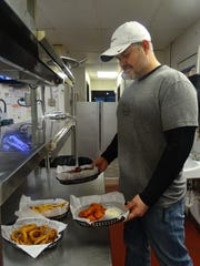 Breck Baker, who owns Baker's Pizza in Bucyrus with