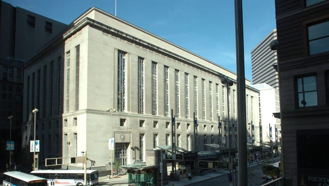 The Potter Stewart Courthouse in downtown Cincinnati