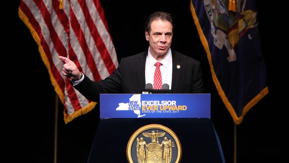 Governor Andrew Cuomo delivers the State of the State