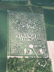 This fall's maze will pay tribute to the Stranger Things