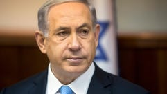 Israeli Prime Minister Benjamin Netanyahu attends the