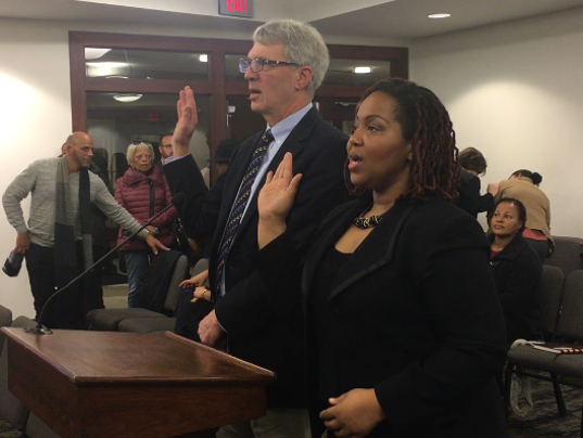 Two new York City Council members sworn in