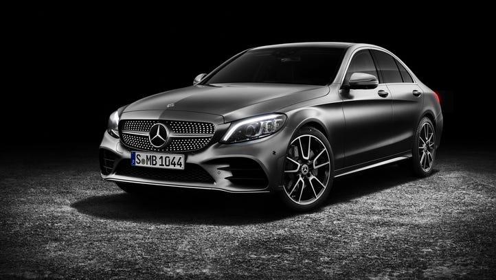 New Mercedes-Benz C-Class sedan gets horsepower, more self-driving prowess