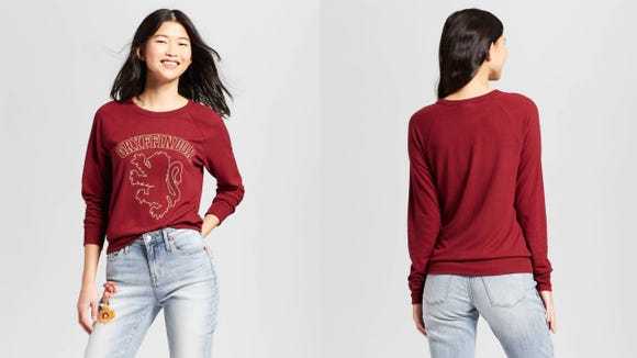 Women's Harry Potter Gryffindor Graphic Sweatshirt