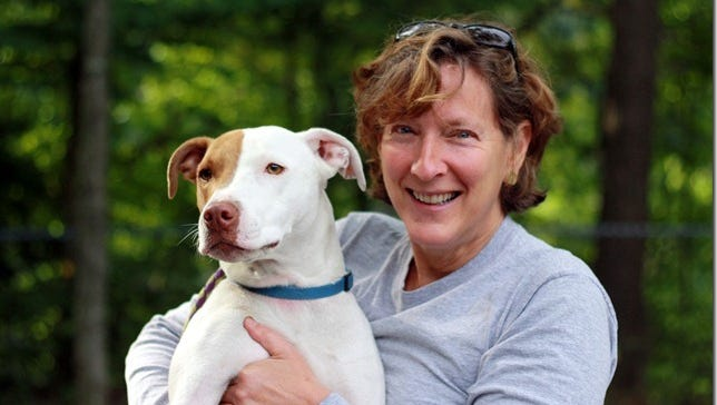 Astro, a Wesley Hills dog, killed a raccoon that wandered onto Margery Rothenberg's deck.