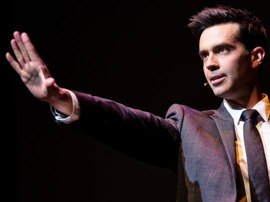 Michael Carbonaro is performing at NJPAC on Dec. 30.
