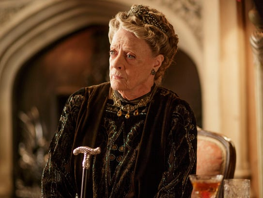 Maggie Smith is Violet Crawley, Dowager Countess on