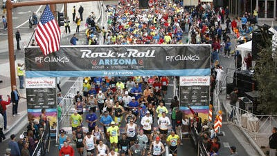 The Rock 'n' Roll Arizona Marathon & 1/2 Marathon is seeking a new title sponsor to replace P.F. Chang's