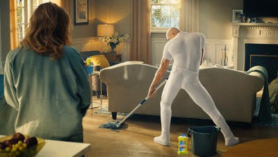 A commercial for Procter & Gamble's Mr. Clean cleanser got high marks from employees at Marketing Works, a Springettsbury Township marketing consulting firm who recapped Super Bowl LI ads on Monday.